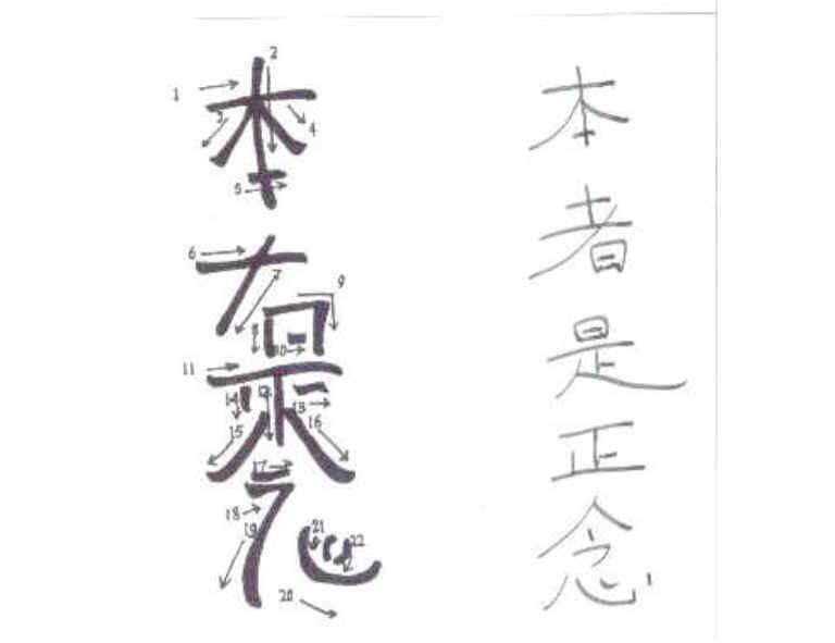 Level Ii Symbols Hon Sha Ze Shonen Psychic Advice And More